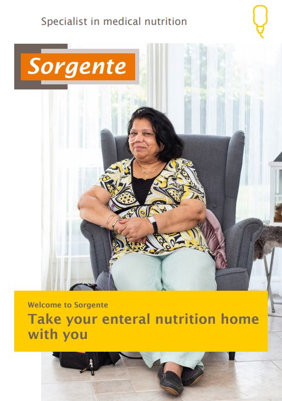 Take your enteral nutrition home with you